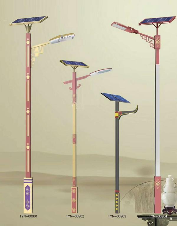 黄山市徽州区太阳能路灯厂家价格锂电池LED单臂路灯