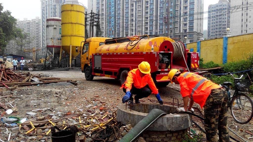金普新区管道清淤快速施工