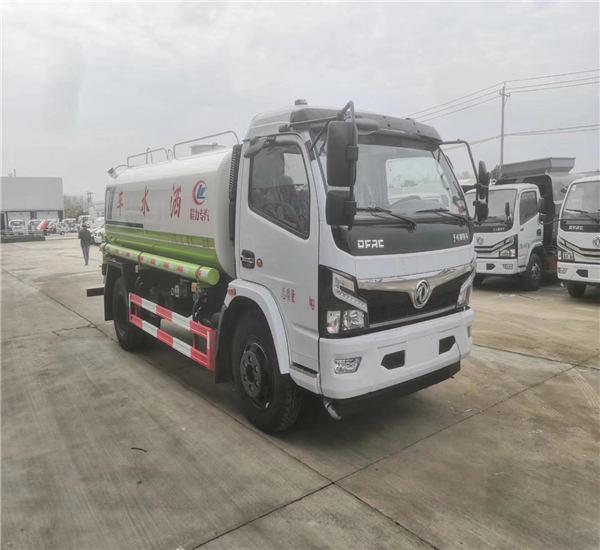 重庆工地12吨国六多功能喷雾洒水车价格