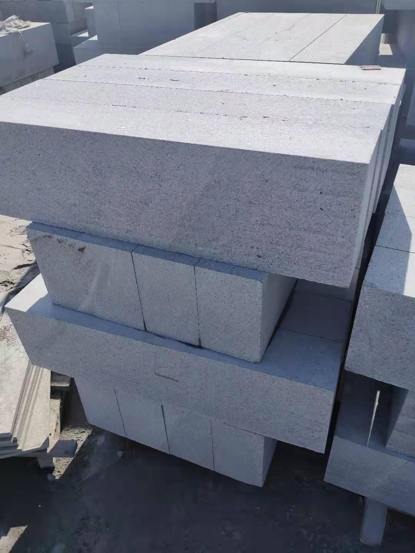 烟台蓬莱芝麻白侧石