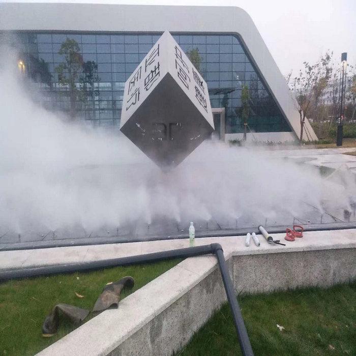 岳陽小區造霧設備|房地產人造霧設備施工