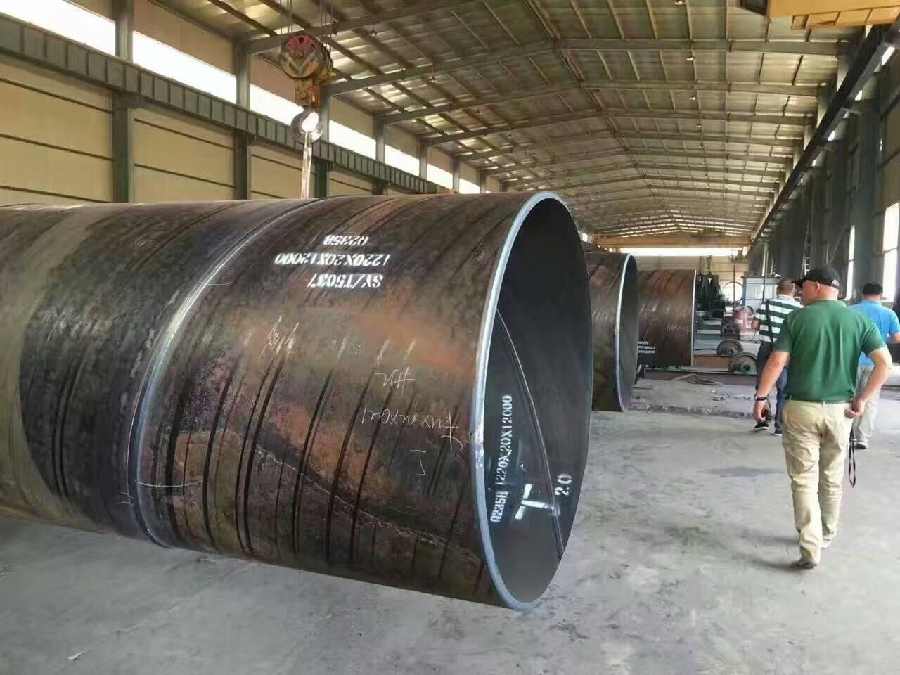 螺旋焊管DN1000过磅多少钱