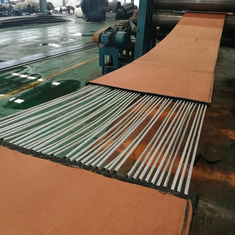 海北塔架机钢丝绳芯输送带厂家直销_「海顺德橡胶」