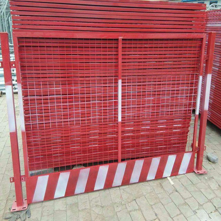 楼层施工防护板_三沙电梯防护门生产厂家