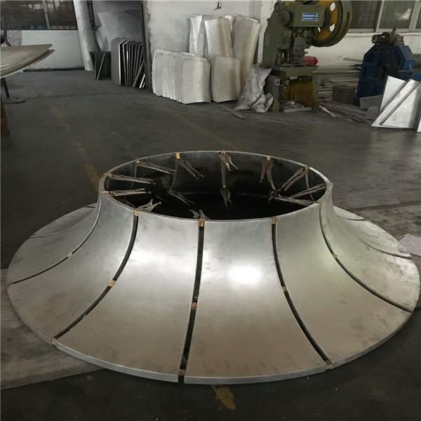 本溪明山双曲铝天花厂家直销-铝乐金属