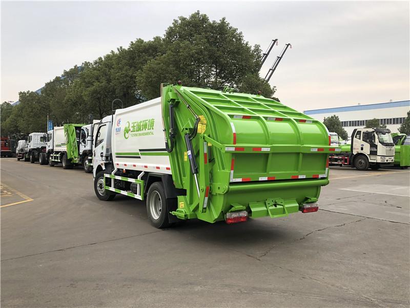 盐城8吨压缩式垃圾车优惠价销售