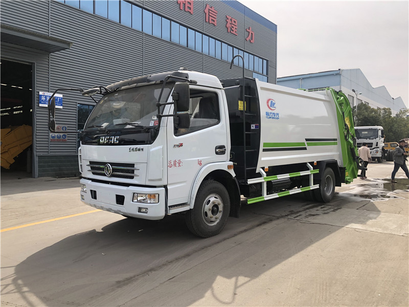 喀什8吨环卫垃圾车多少钱一台