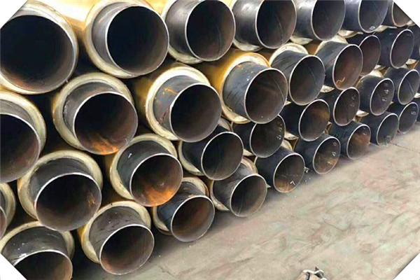 张家界市聚氨酯发泡直埋保温钢管供不应求