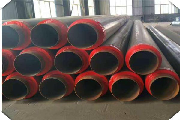 鹤岗市聚氨酯发泡直埋保温钢管制造工艺