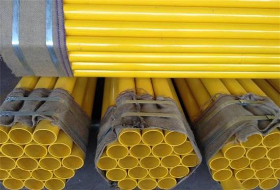 山西省大同市消防喷淋用涂塑钢管一米价格