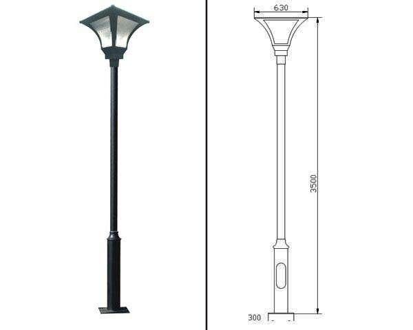 温江6米7米10米太阳能路灯价格路灯杆生产厂家批发