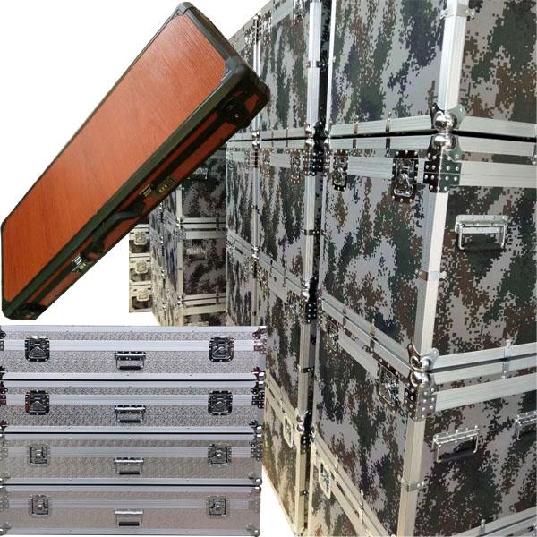 周口市定制铝合金渔具箱定做正天铝箱批发