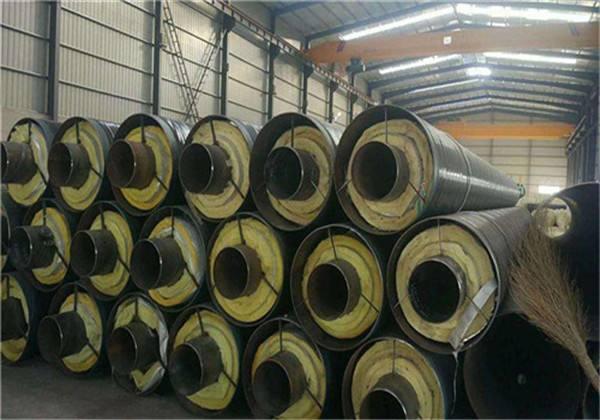 南阳唐河热力高密度聚乙烯外套直埋保温螺旋焊管华北大型钢管厂家