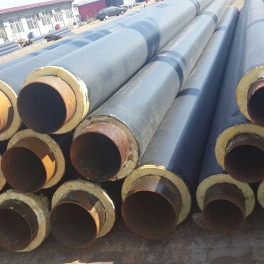 庆阳西峰供暖用聚乙烯外护管聚氨酯保温螺旋焊管含税价格