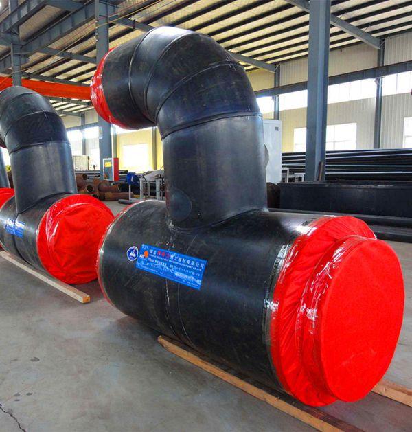 实体厂家河北宏勃钢套钢蒸汽保温疏水节溆浦县