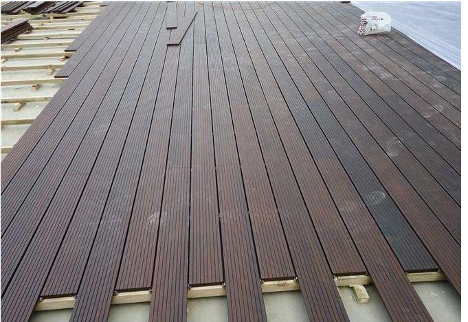 周口露台木塑地板现货销售