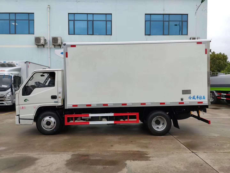 宜宾市国六牛奶保鲜运输冷藏车厂家直销