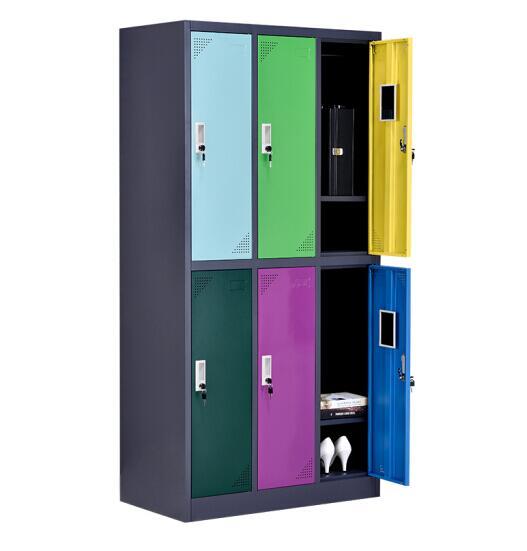 和平小学书包柜定做专业加工金属制品