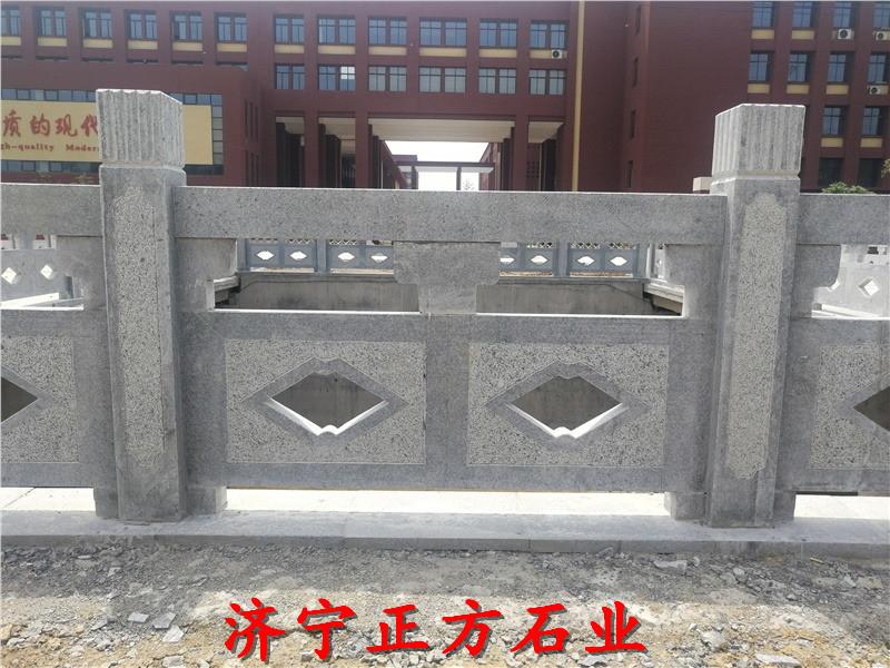 济南济阳石雕栏杆加工定做电话一手货源厂家定做