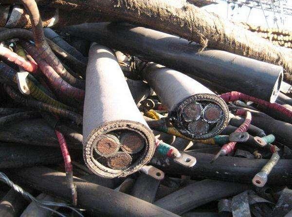 东莞横沥镇300方电缆收购公司专业上门回收电缆
