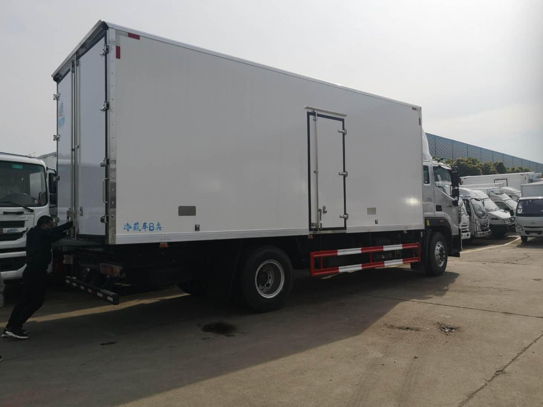 唐山市国六江铃顺达(宽体)冷藏车在线咨询