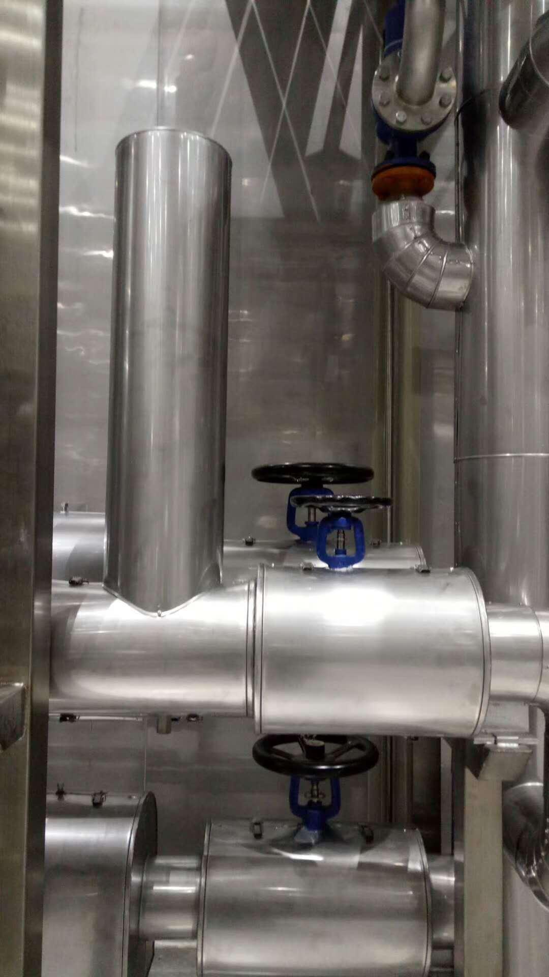 长治长子铝皮管道 罐体保温施工价格--蒸汽管道保温施工电话