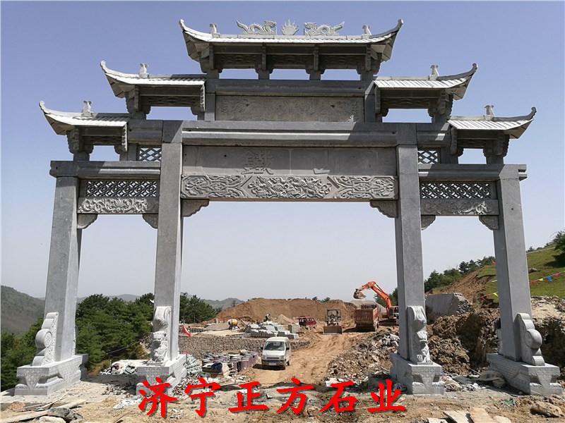 广东中山石牌楼石牌坊定做信息免费安装