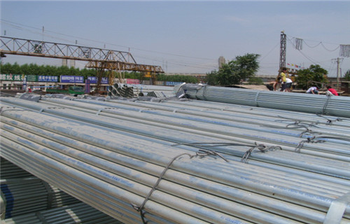 安徽阜阳Q355B镀锌钢管6寸150批发市场