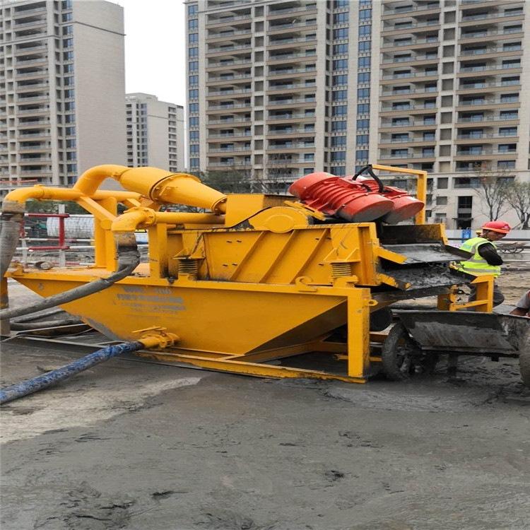 钻井泥浆处理设备内蒙古扎鲁特旗使用现场