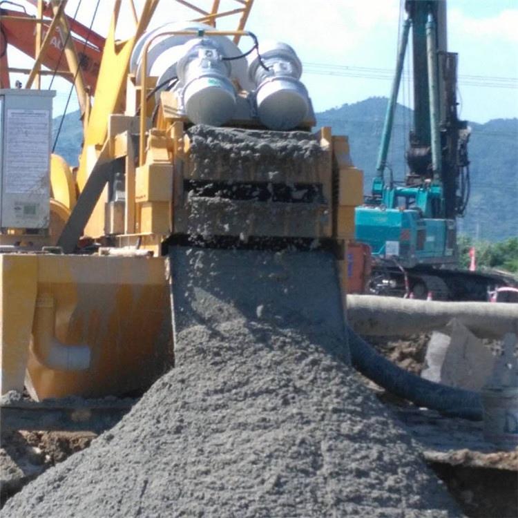 建筑打桩泥浆分离机安徽濉溪处理量