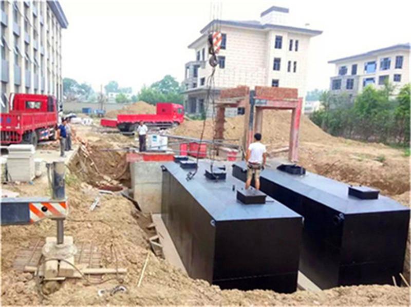 中山火炬医院污水处理装置工艺