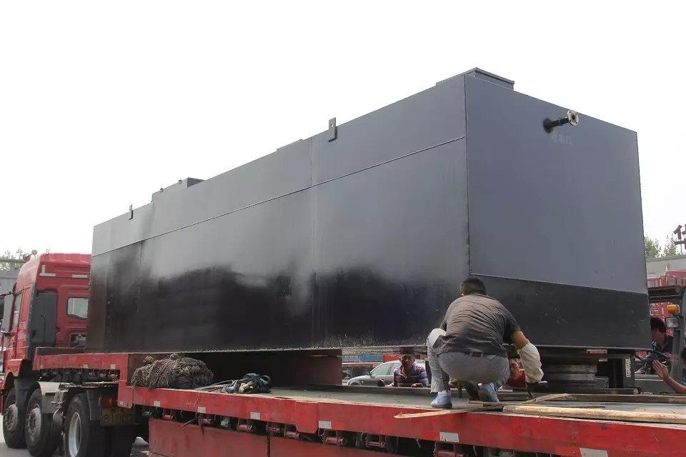 济宁金乡一体化地埋式污水处理设备生产厂家每小时20吨