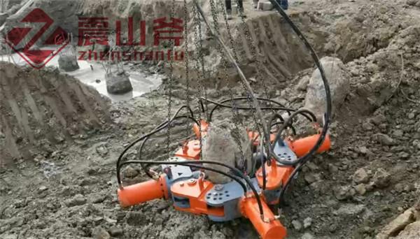 沈阳桩基破桩头机器日开采量是多少