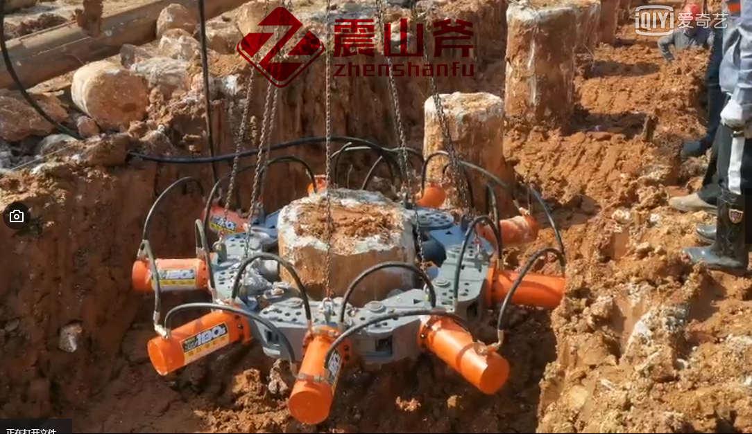 南陵混凝土破桩机多少钱_震山斧破桩头机器设备